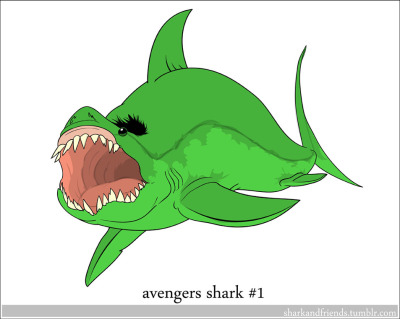 """HULK SHARK!"" or ""SHARK SMASH!"" or ""SHARK SHARK!"" —- This series will clear about half of the requests from the list ♥"
