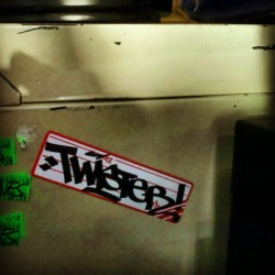 TWISTER HandStyle - East Bay, CA - #twistSticker #twist #twistTag #barymcgee #graffitiSticker #thr #640