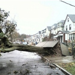 Sandy playing NO games #hurricane #sandy #newyorkcity