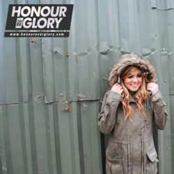 WINTERS HERE! Grab your HONOUR OVER GLORY A/W parka jacket now!