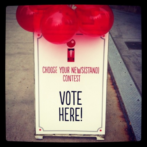 Voting has begun! Stop by Tribune Tower (or our Facebook page) to get in on the action. #redeye10