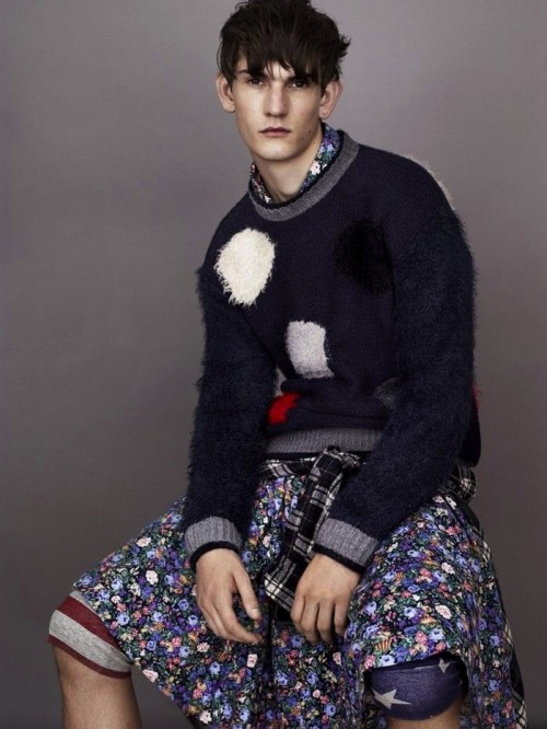 Reece Sanders - James Long for Topman