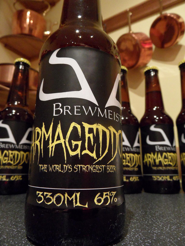 130 Proof beer…I want to try this!  laughingsquid:  Armageddon, The World's Strongest Beer