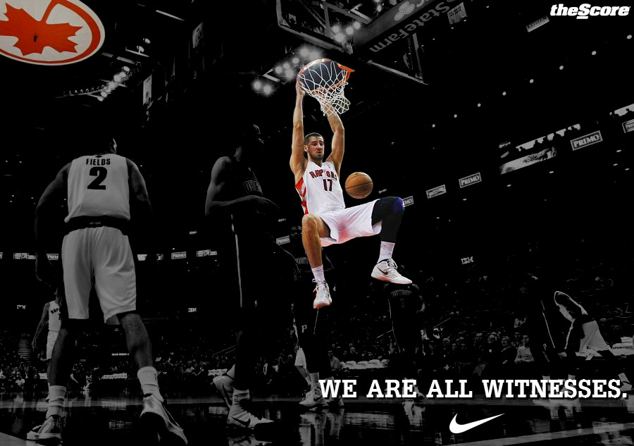 Jonas Valanciunas: We Are All Witnesses. #RTZ (photo)