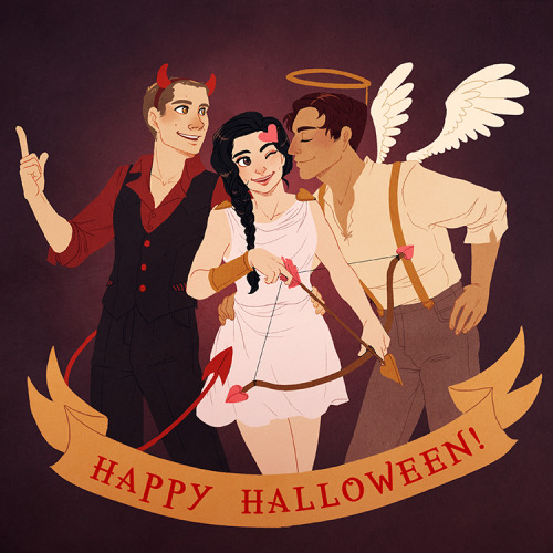 Team Free Wolf decided that they'd keep with the Halloween tradition of matching costumes that Stiles and Scott kept to all these years.  Happy Halloween!