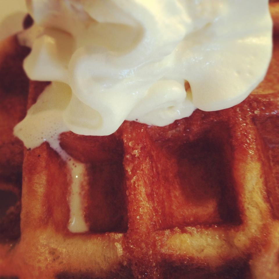 Bacon. Butter. Waffle. Oh my. Making one of these golden delights would be enough to brighten anybody's day. But for the creators of The Wafel Shop, this most recent batch is a little extra sweet. As of yesterday, the Kickstarter-backed project has a permanent home in a downtown Ann Arbor storefront. Like many creators, the duo behind The Wafel Shop hit a few snags along the way — and discovered that it can be tough to delay a dream. When their seemingly ideal space came up short, there was plenty of incentive to forge ahead anyway, given the months of work and planning already invested in the idea. But the creators made the difficult call to walk away, delaying their project while perhaps saving it, too. Now, the perfect home is theirs — and they still have the budget to move in and get cooking. It's frustrating when the right call and the fastest way forward seem to be at odds. But for the creators and backers of The Wafel Shop, that first bite will be just a little bit sweeter.