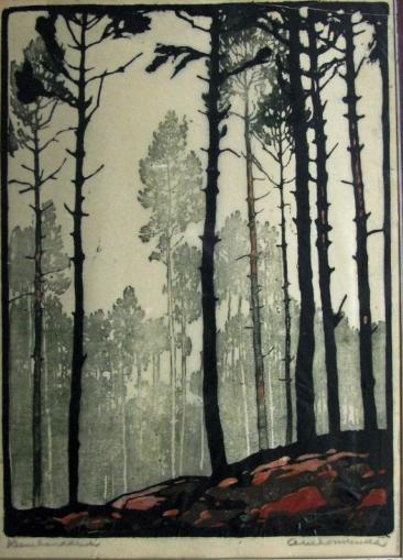 venusmilk:  Arie Zonneveld,  (1905-1941)Dennebos   This is lovely.