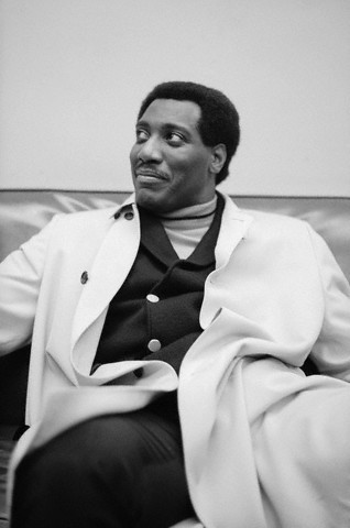 vintageblackglamour:  Iconic soul singer Otis Redding waiting backstage at Hunter College in New York City in January 1967. Photo: Michael Ochs Archives/Corbis.