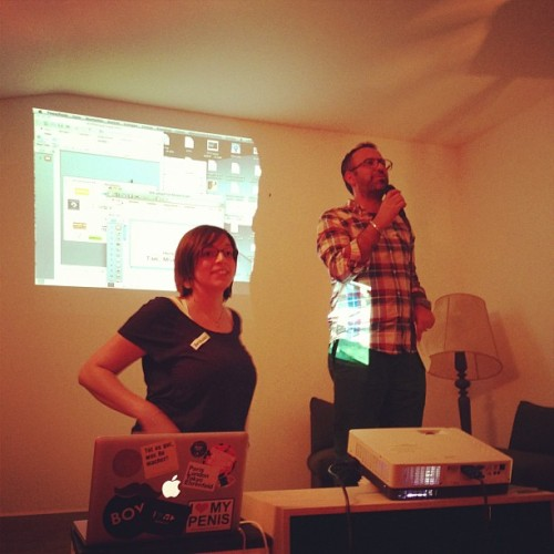 Just been renamed Tim and am now in the jury. #betapitch (at betahaus)