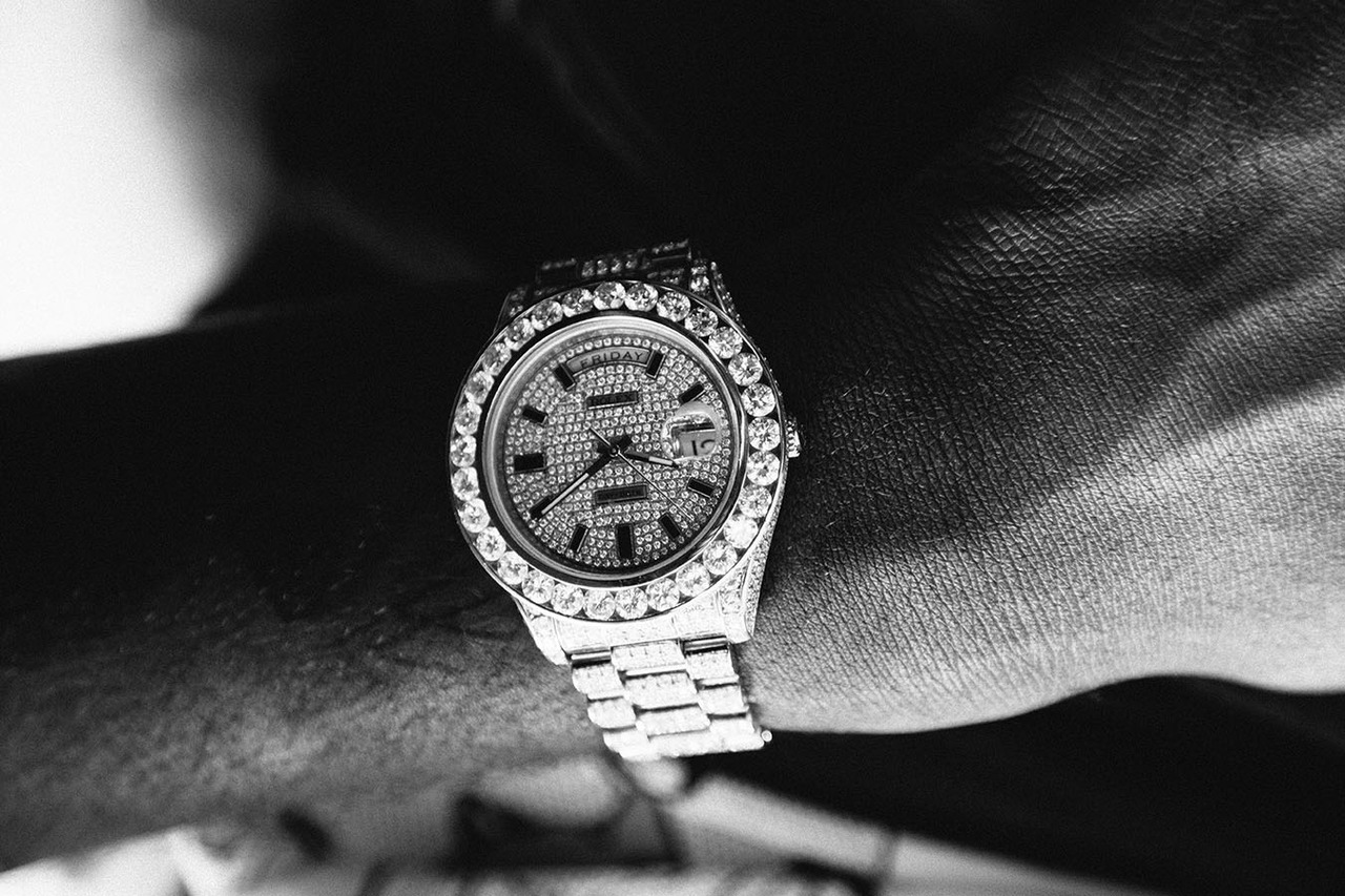 Meek Mill's watch. NYC 2012.
