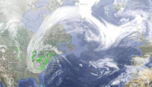 robdot:  Hurricane Sandy and the bigger picture.  #Frankenstorm