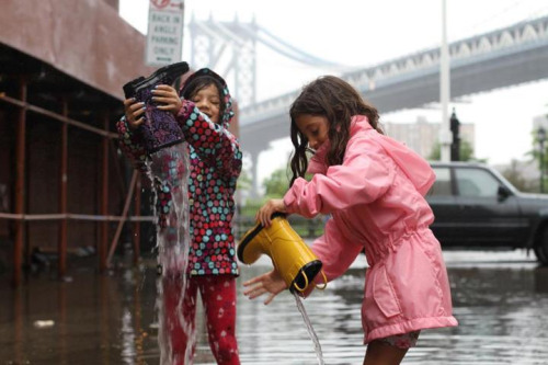humansofnewyork:  Clean-up has begun.