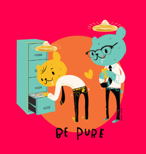 Be pure: safe sex is never wrong.AIDS PREVENTION CAMPAIGN by Lucio Regner | InspireFirst