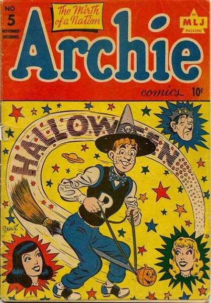 31 Days of Halloween: Day 31: Archie, issue #5. Happy Halloween everyone! Thanks for checking out the spooky fun here for the past month.