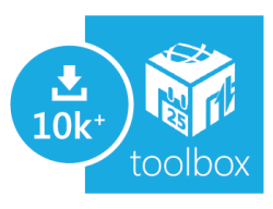 Over 10,000 Toolbox downloads in less than 5 days. Awesome. Thank you! Please continue letting us know what you think and sharing your reviews. This is only the beginning! Download Toolbox in the Windows Store.