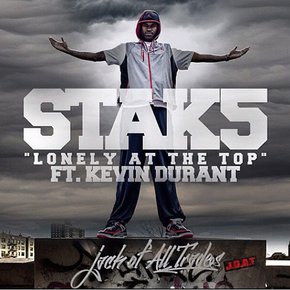 "Stak5 ""Lonely At The Top"" feat. Kevin Durant"