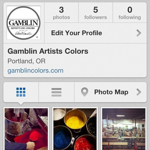 For more inky goodness and color mixing factory shots follow @gamblincolors! 🎨🏭 (at Gamblin)