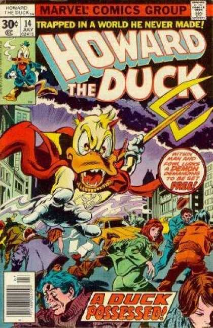 Howard the Duck, issue #14