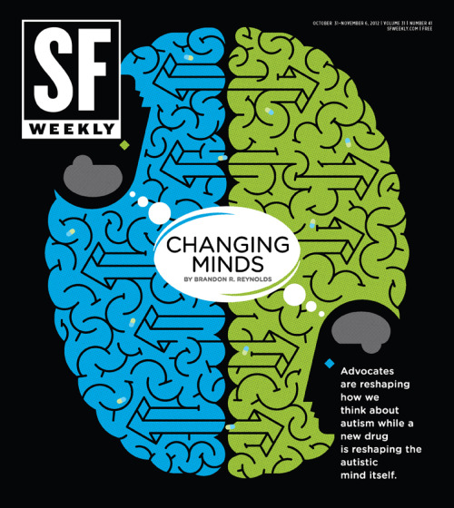 SF Weekly, October 31, 2012Illustration and art direction: Andrew J. Nilsen