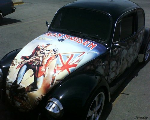 Iron Maiden Bug ~ The Best Beetle Ever!