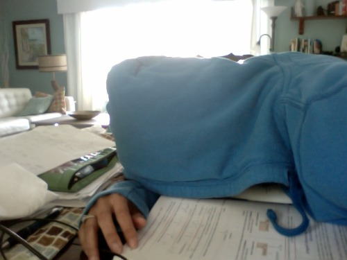 This is how I feel about studying. Every day, all day.