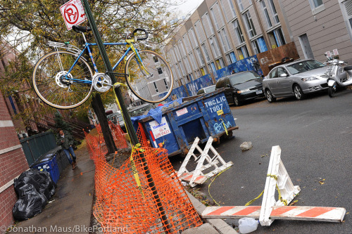 bike preservation during hurricane Sandy