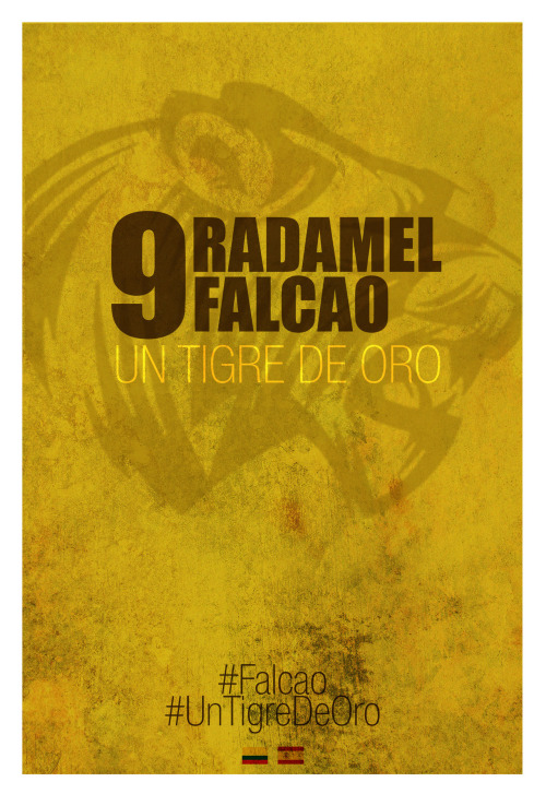 RADAMEL#Falcao #UnTigreDeOro