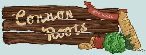 I made a mock web banner for Common Roots for class! It was fun to make. It's nothing too crazy but this has been a really busy week.