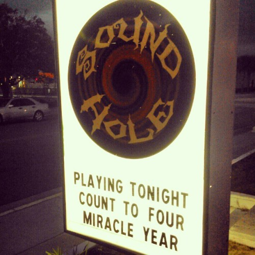 Playing at the Sound Hole tonight in Myrtle Beach, SC. #myrtlebeach #sc #southcarolina #tourlife #poppunk #hardcore #metalcore #music #show #concert #mosh #moshpit #thesoundhole #soundhole #instagood #instahub #rockshow #punk #counttofour #5 #Halloween #halloweenshow #halloweencostume (at Sound Hole)