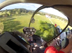 laughingsquid:  Helicopter Pilot Fishes a RC Model Airplane Out of a Tree  This is so cool! (warning: foul language)