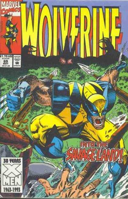 Wolverine v2 #69, May 1993, written by Larry Hama, penciled by Dwayne Turner