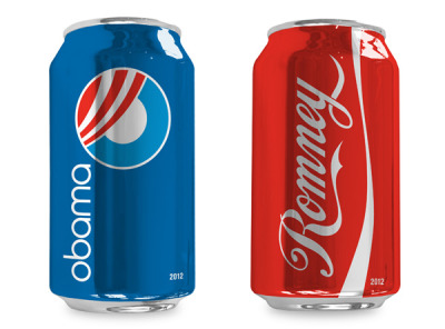 Cola Election Cans by Brian Singer