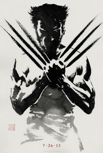 wolverineholic:  The Wolverine official poster
