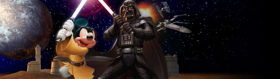 Disney Acquires Lucasfilm For More Money Than Your Puny Mind Can Imagine With the announcement of the merger came news that Disney will produce a new Star Wars movie trilogy because money is a thing and why not try to have all of it.