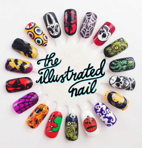 HAPPY HALLOWEEN FROM THE ILLUSTRATED NAIL!