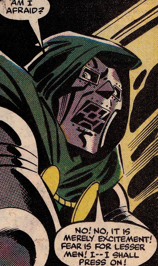 jthenr-comics-vault:  Doom Has No Fear