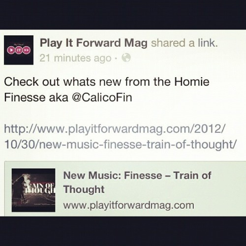 @playitforwardmag @calicofin #TrainOfThought