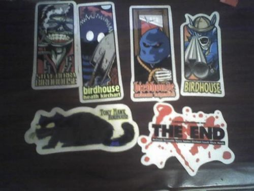 OG Birdhouse Stickers. Reynolds, Kirchart, Berra, Tony Hawk.