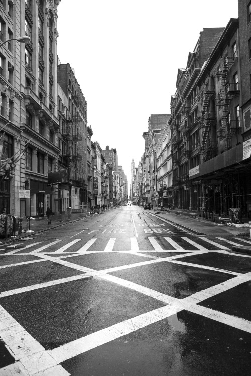 jamesnord:  Of course the one day SoHo is empty of tourists all the stores are closed, just can't win.