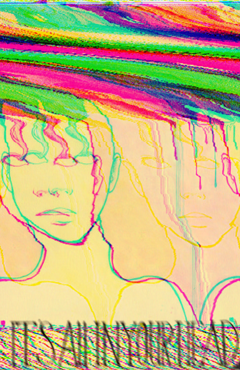 neverendingtracksoflight:  More Glitch art! I've been on a roll lately!