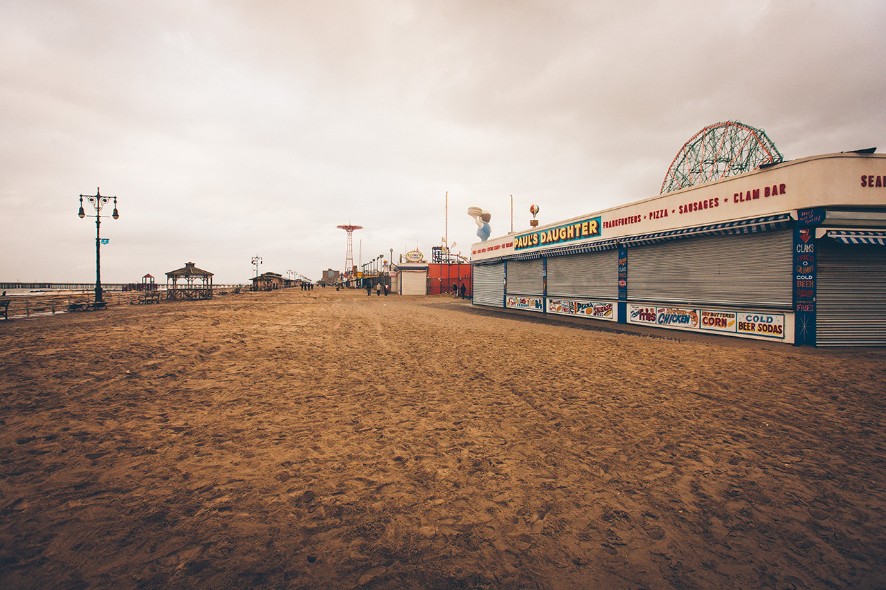 Coney Island Boardwalk | 2012