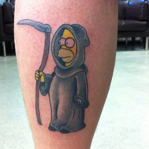 brealeigh:  Bloody little reaper homer I got to do today!