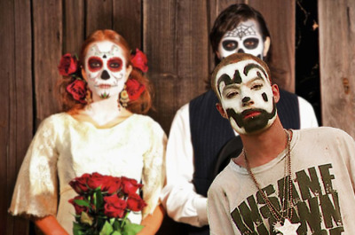 I wonder what Juggalos think about Halloween and the Day of the Dead…  Do they love it, or do they hate it, because they think everyone painting their face is a poseur Juggalo or Juffalo?