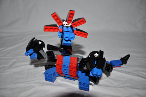 cheesebutts:  Lego Hydreigon. ( I did not make this)