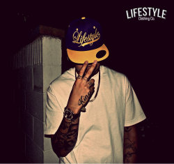 Purp. & Yellow Lifestyle Snapback . Available in these Colors & others at http://deeceekustoms.bigcartel.com
