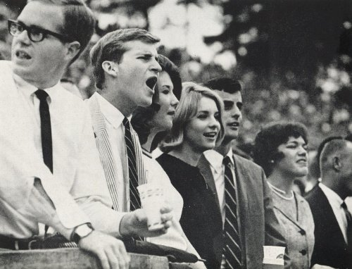 gqmcgee:  Seersucker at UNC in 1965.