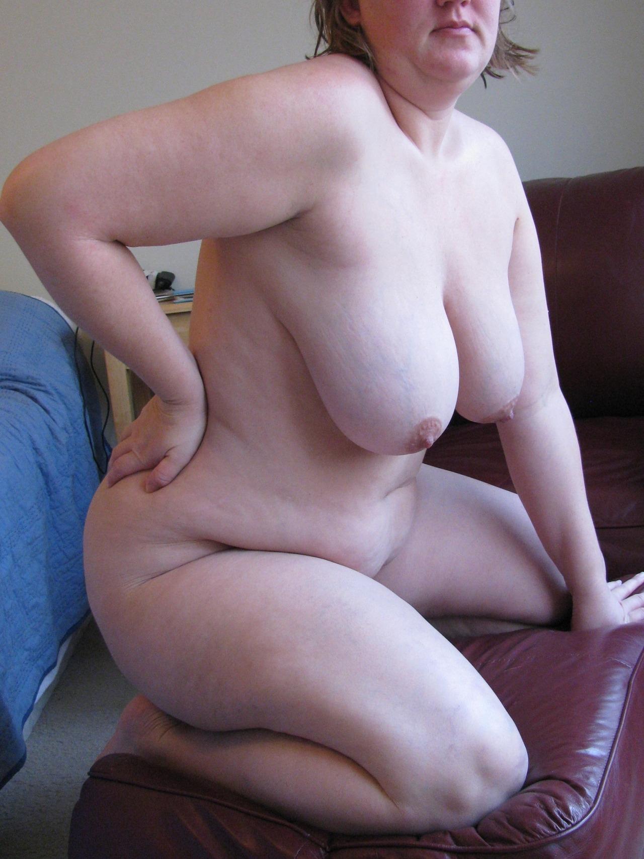 bbw naked video