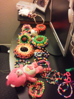 toxic-panda69:  My kandi for tomorrow n.n