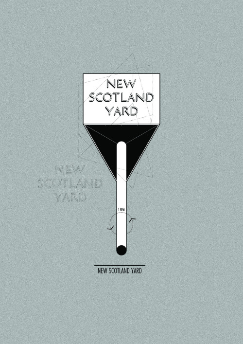 New Scotland Yard by Harry Thomas Day