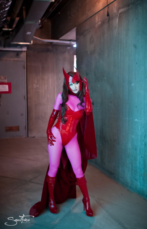Scarlet Witch  Cosplayed by mostflogged  Photography by SoulFire Photography